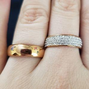 Swarovski Double Ring